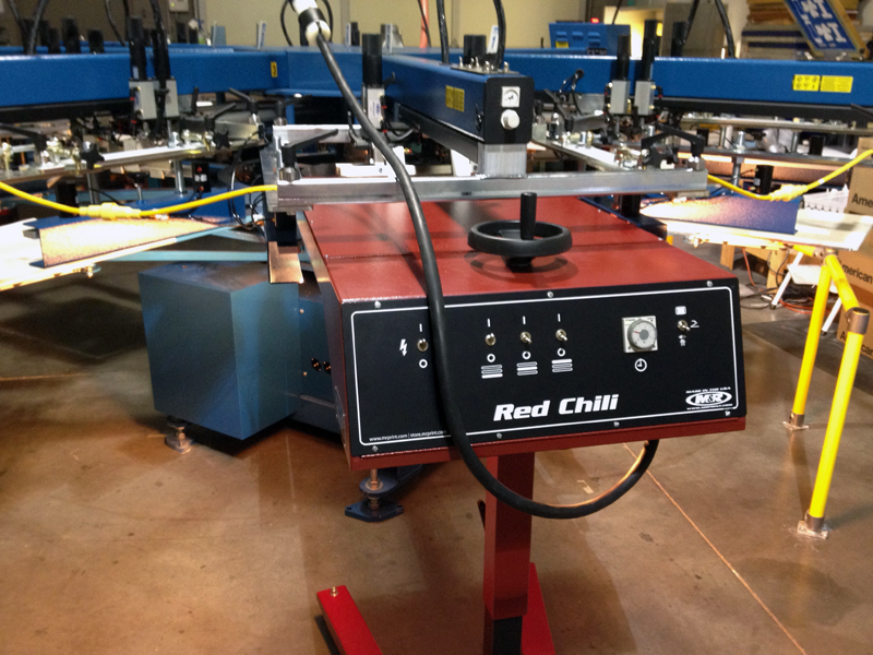 Red Chili with Automatic Pallet detection and Auto-On for Energy Efficiency