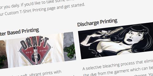 Screen print order processing, ordering custom t shirts, Custom t-shirt printing, printing on american apparel, order processing, ordering printed t shirts online,
