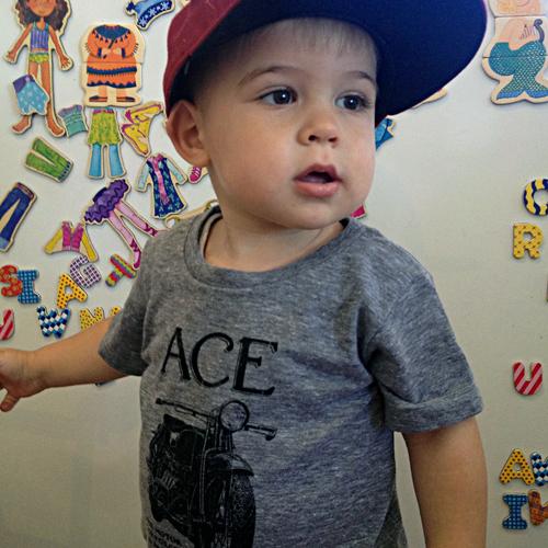 #ace #kidstshirt #kidswear #americanapparel